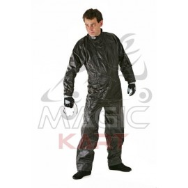 combinaison pluie noir taille